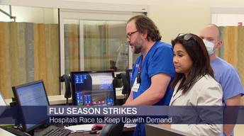 Area Hospitals Race to Keep Up With a Demanding Flu Season