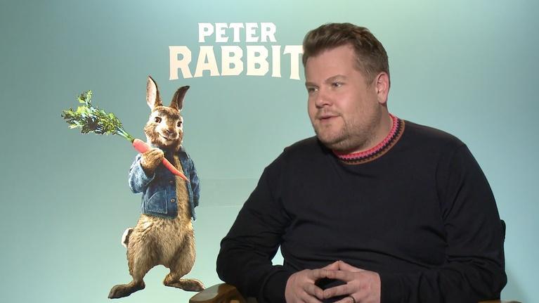 """Flicks: James Corden for """"Peter Rabbit"""""""