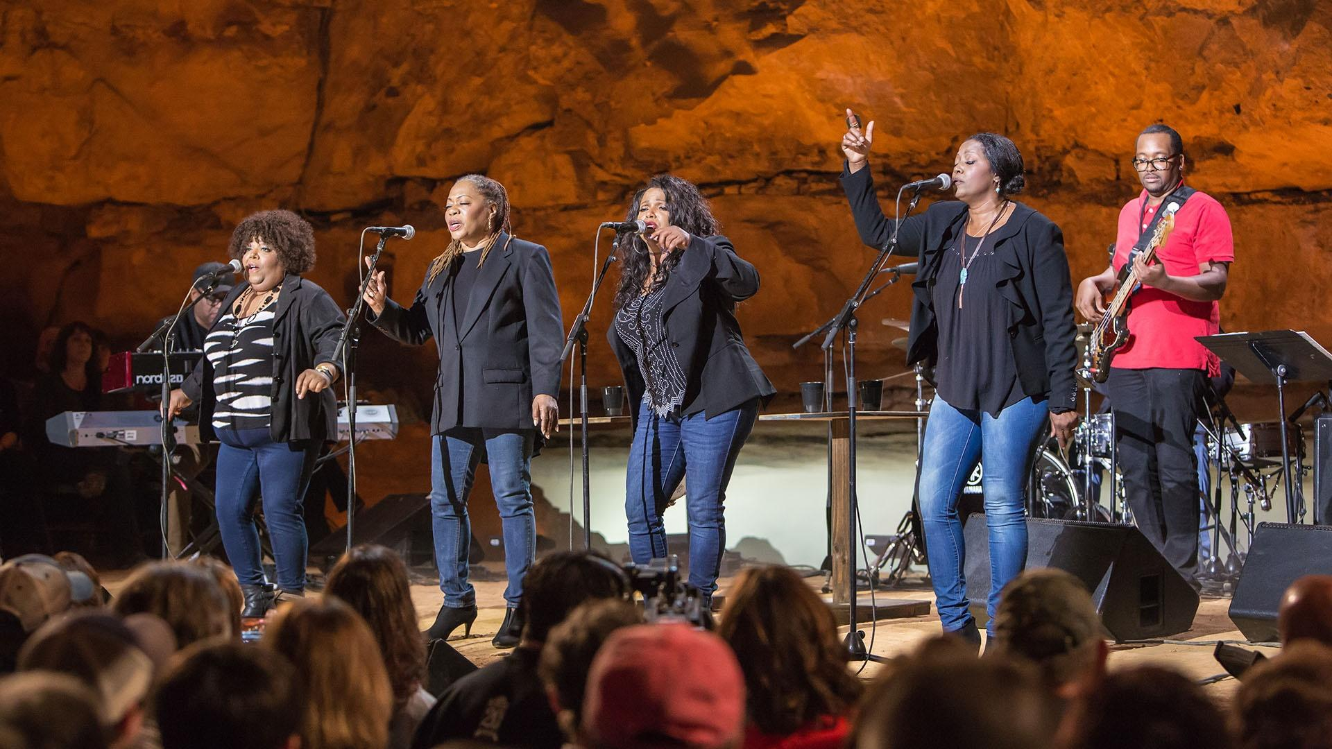 "The McCrary Sisters perform ""Help Me"""