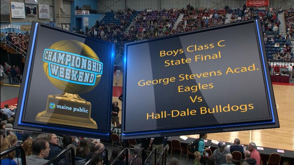 George Stevens vs. Hall-Dale Boys Class C 2018 State Final image