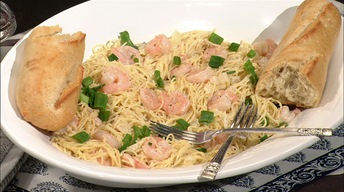Simple Cooking: Creamy Shrimp Picatta