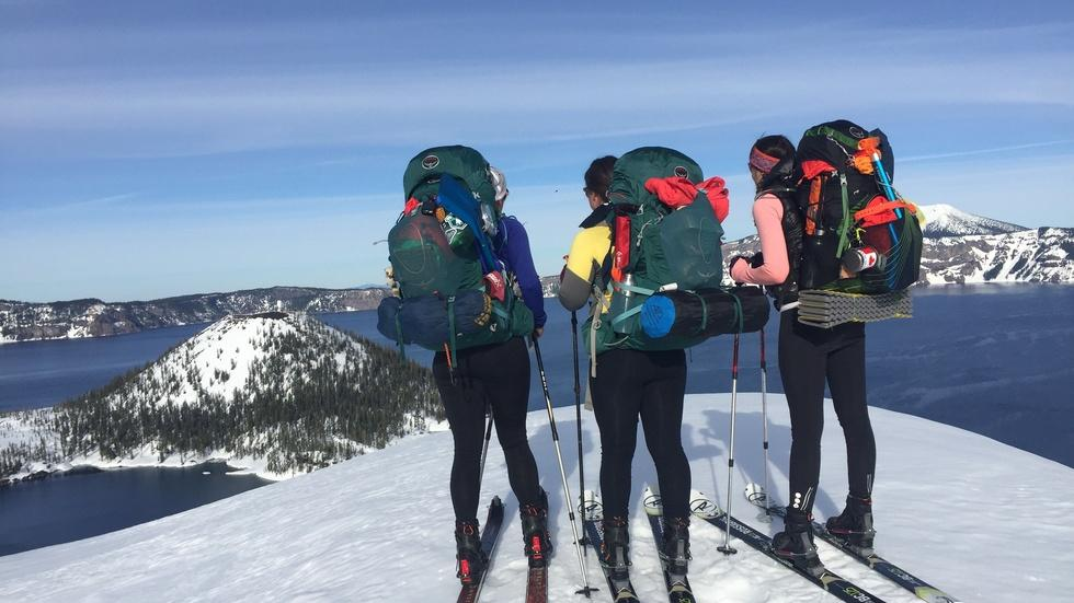 Crater Lake Ski Expedition and Tower Engineers image