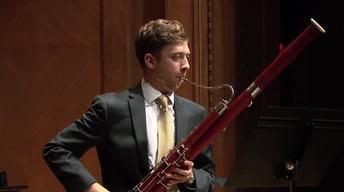 Bassoonist Pearson Altizer Graduation Recital
