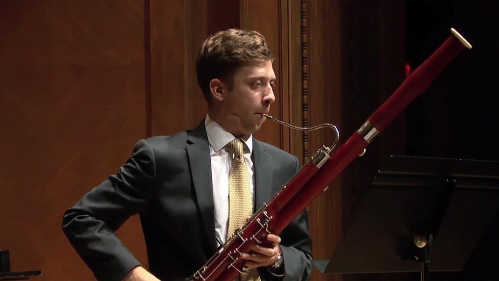 Bassoonist Pearson Altizer Graduation Recital image