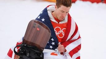 Olympic snowboarder Shaun White faces tough questions