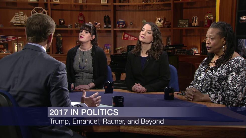 2017's Top Political Stories: Trump, Emanuel, Rauner image