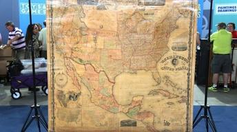 "S22 Ep3: Appraisal: 1861 ""Washington Map of the United State"