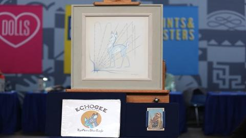 Antiques Roadshow -- Appraisal: Acee Blue Eagle Painting, ca. 1950