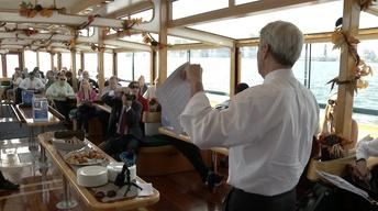 Boat tour examines resiliency of shoreline post-Sandy