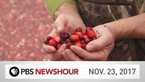 PBS NewsHour full episode November 23, 2017