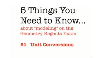CC Geometry Unit Conversions
