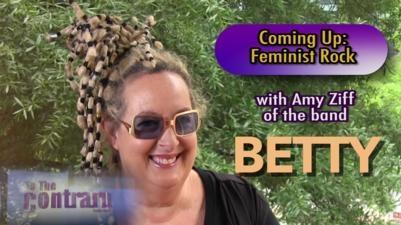 Feminist Rock Band Betty's Amy Ziff