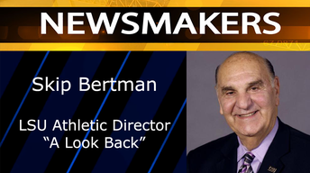 "Skip Bertman, LSU Athletic Director, ""A Look Back"""
