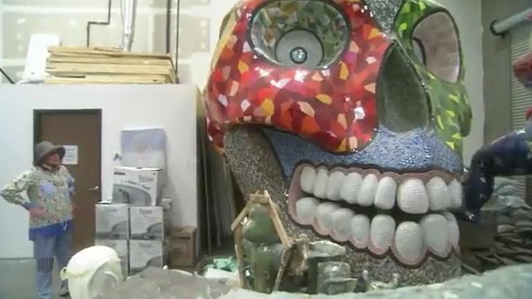 Niki De Saint Phalle's Coming Together
