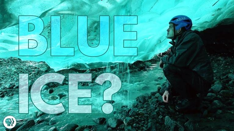 It's Okay to Be Smart: Inside an ICE CAVE! - Nature's Most Beautiful Blue