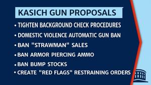 John Kasich's Pragmatic Approach to Gun Control