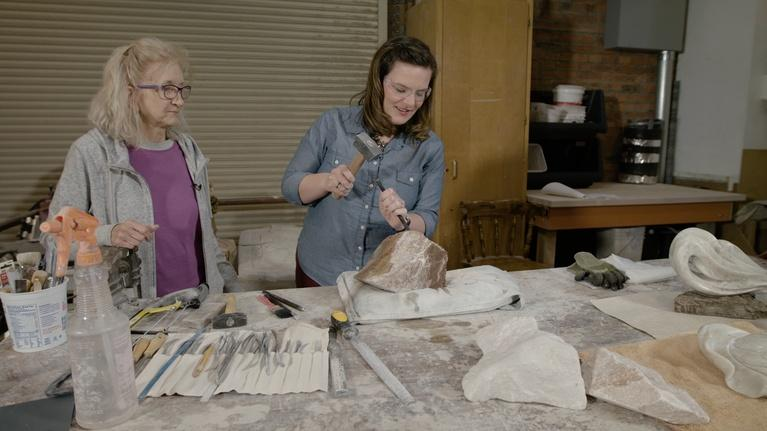 Broad and High: Stone Carving, Hear Jane Roar, Bill Cohen