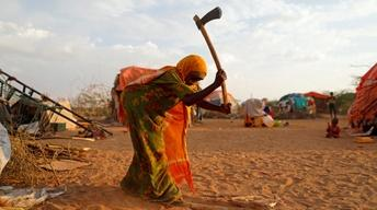 Frequent drought comes with conflict in Somalia