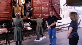 WWII Museum Boxcar
