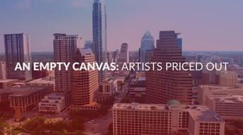 An Empty Canvas: Artists Priced Out