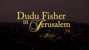 Dudu Fisher in Jerusalem