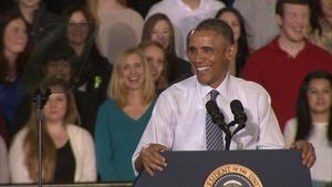President Obama Visits Idaho