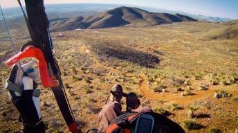 El Paso Paragliding, Blue Mountain & A Frog Pond