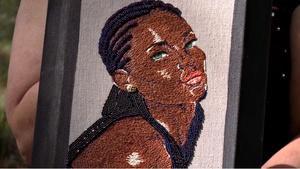 """710 - Erika Hagberg Embroidery & Lee """"Bone"""" Sherseth"""