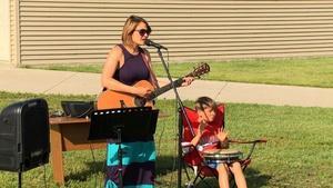 714 - Musician Amanda Grace & The Young At Art Exhibit