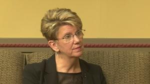 Laine Larson, Superintendent of Brainerd schools