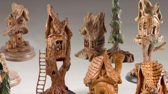 Rick Jensen: Tree House Woodcarvings (Part 1)
