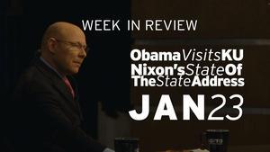 Nixon State of the State, Obama visits KU - Jan 23, 2015