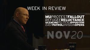 Protest Fallout, Refugee Crisis, Smoke 21 - Nov 20, 2015