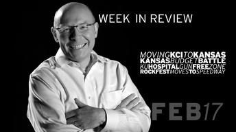 Moving KCI to KS, KS Budget, Guns at KU Med - Feb 17, 2017
