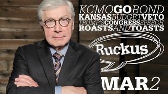 KCMO GO Bond, KS Budget Veto, Trump Speech - Mar 2, 2017
