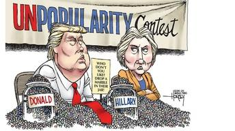 Political Cartoonist David Horsey on the 2016 Election