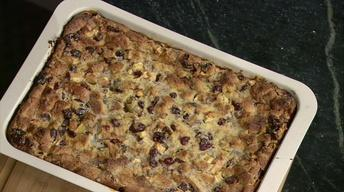 Cranberry Pecan Bread Pudding