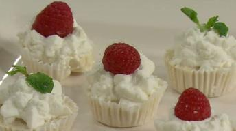 No-Bake Irish Cream Cheesecake Tartlets