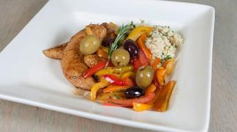 Greek Chicken & Peppers
