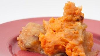 Chipotle Sweet Potato & Spiced Apple Puree