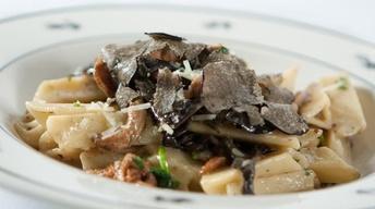 Pasta with Wild Winter Mushrooms