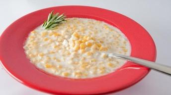Rosemary Cream Corn