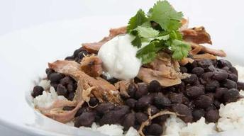 Cuban Pork with Black Beans