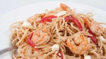 Island Shrimp Pasta