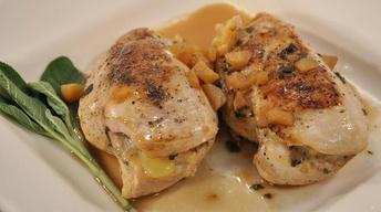 Brie & Apple Stuffed Chicken