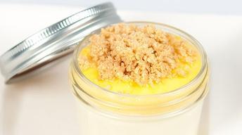 Lemon Cheesecake Jar