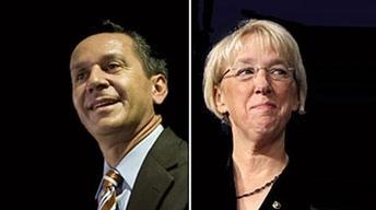 Debate De Los Candidatos A Senador: Dino Rossi y Patty...