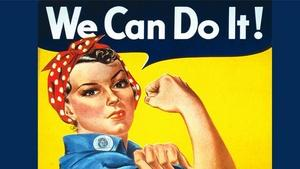 Boeing's Rosie the Riveter