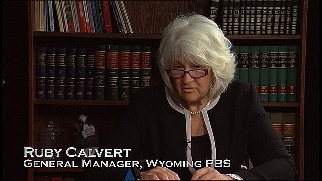 Ruby Calvert, Wyoming PBS GM Retires