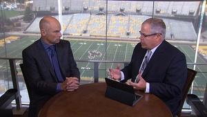 U.W. Athletics Director Tom Burman